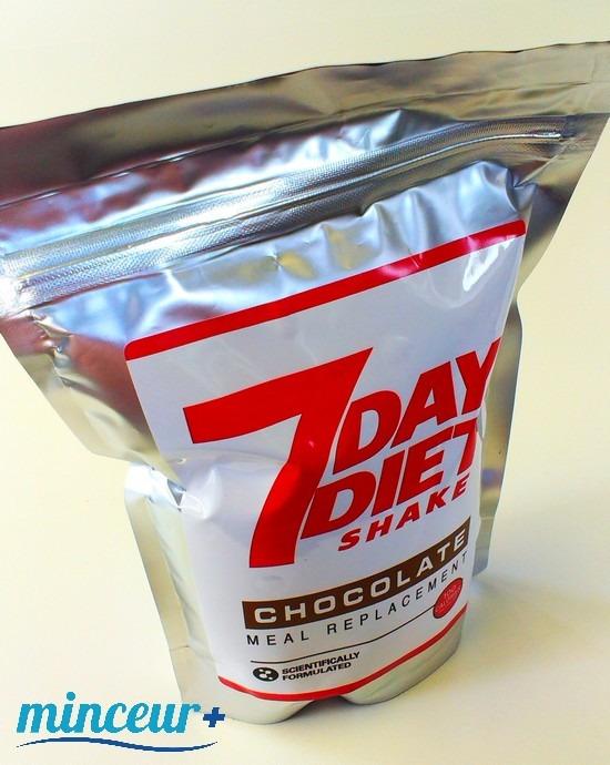 7 day diet shake chocolat