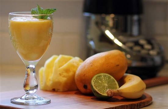 Le Smoothie gingembre/ananas