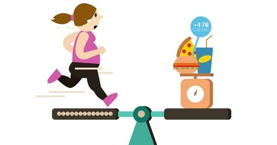 Maintenez votre apport calorique au dessus de 1200